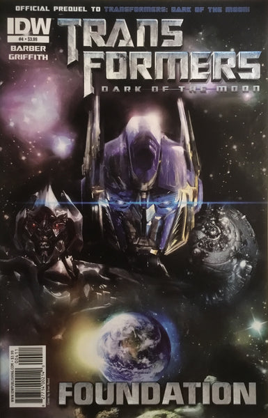 TRANSFORMERS DARK OF THE MOON FOUNDATION # 4