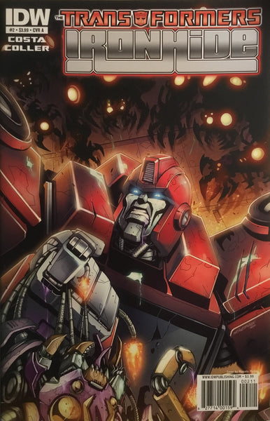 TRANSFORMERS IRONHIDE # 2 (COVER A)