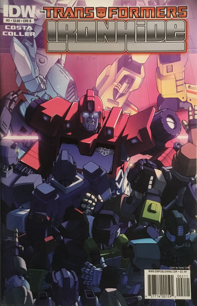 TRANSFORMERS IRONHIDE # 2 (COVER B)