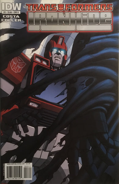 TRANSFORMERS IRONHIDE # 3 (COVER B)