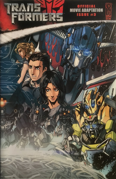 TRANSFORMERS MOVIE ADAPTATION # 3