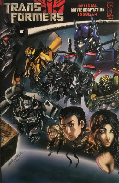 TRANSFORMERS MOVIE ADAPTATION # 4
