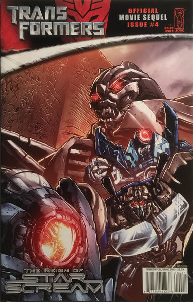 TRANSFORMERS MOVIE SEQUEL THE REIGN OF STARSCREAM # 4 (COVER B)
