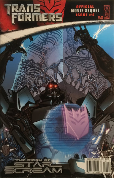 TRANSFORMERS MOVIE SEQUEL THE REIGN OF STARSCREAM # 4 (COVER A)