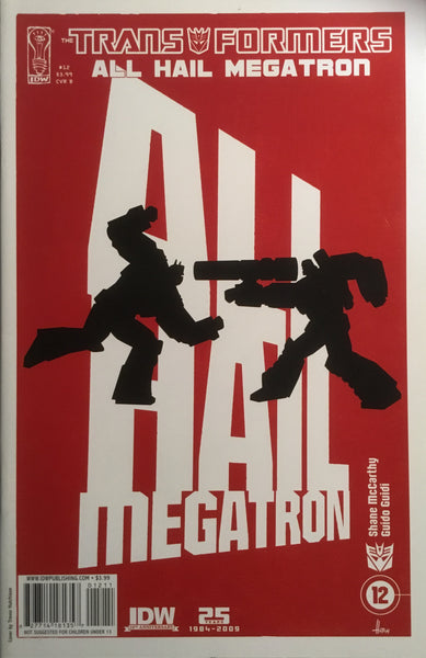 TRANSFORMERS ALL HAIL MEGATRON #12