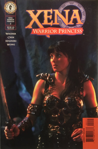 XENA WARRIOR PRINCESS # 2 PHOTO COVER