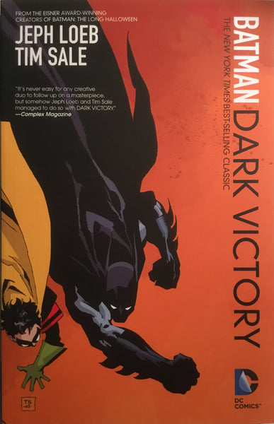 BATMAN DARK VICTORY GRAPHIC NOVEL