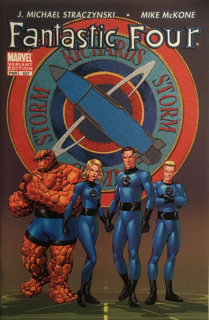 FANTASTIC FOUR (1998-2011) #527 VARIANT COVER
