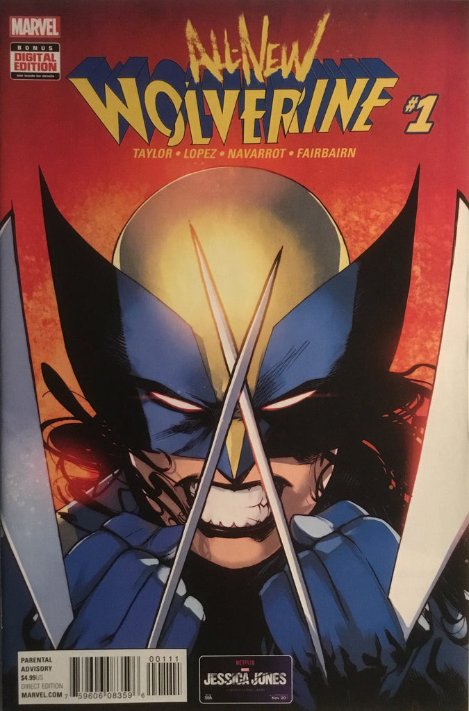ALL NEW WOLVERINE # 1