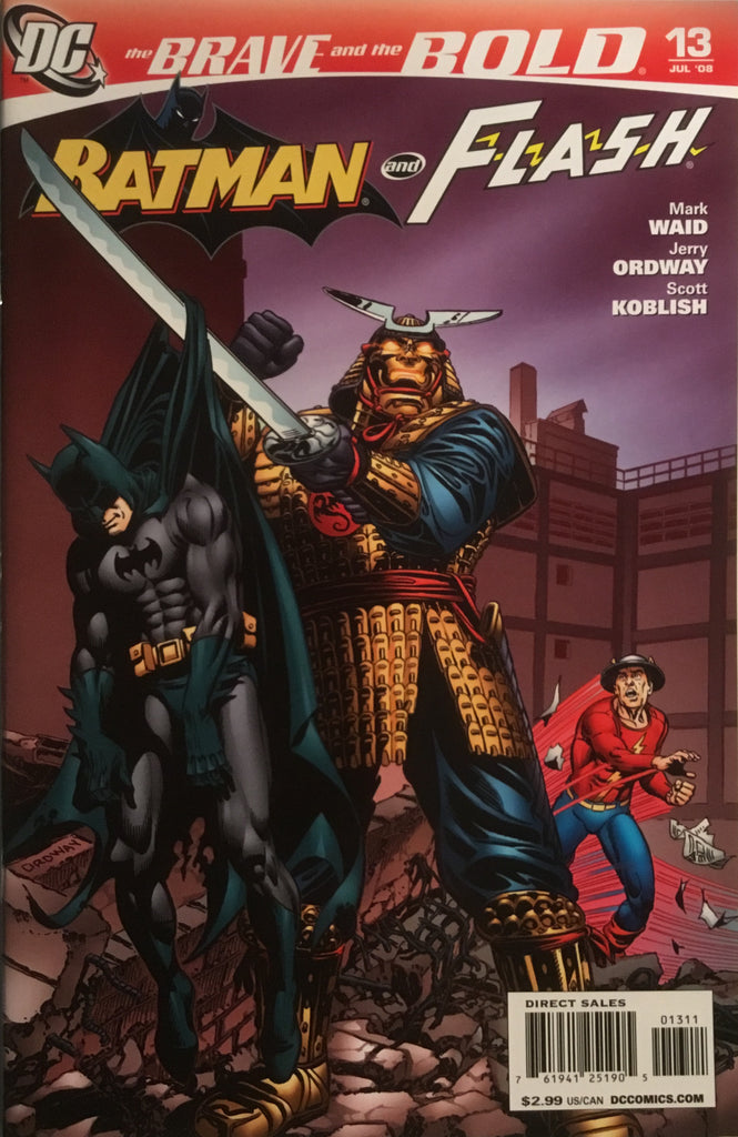 BRAVE AND THE BOLD (2007-2010) #13 FEATURING BATMAN AND FLASH