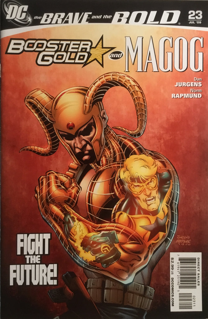 BRAVE AND THE BOLD (2007-2010) #23 FEATURING BOOSTER GOLD AND MAGOG