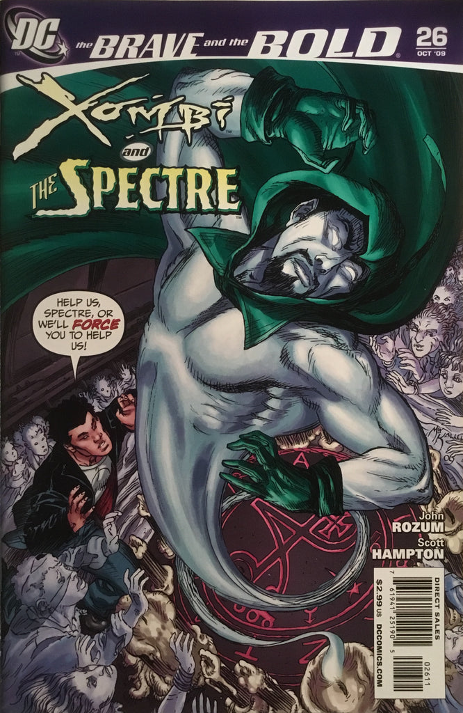 BRAVE AND THE BOLD (2007-2010) #26 FEATURING XOMBI AND THE SPECTRE