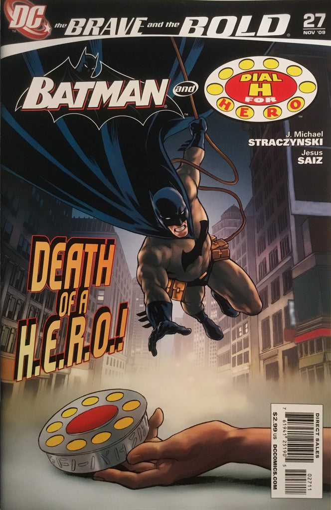 BRAVE AND THE BOLD (2007-2010) #27 FEATURING BATMAN AND DIAL H FOR HERO