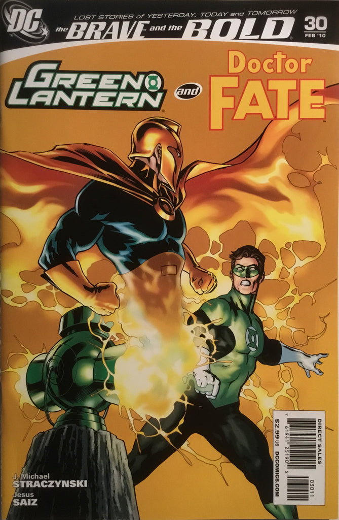 BRAVE AND THE BOLD (2007-2010) #30 FEATURING GREEN LANTERN AND DOCTOR FATE
