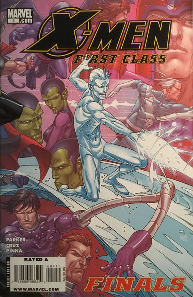 X-MEN FIRST CLASS FINALS  # 4