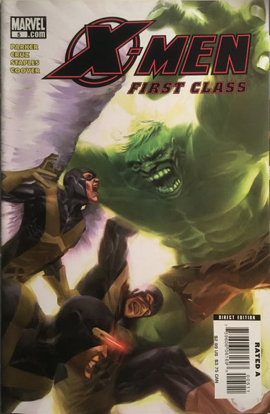 X-MEN FIRST CLASS (2007-2008) # 5
