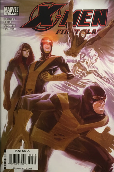 X-MEN FIRST CLASS (2007-2008) # 6
