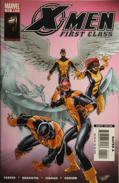 X-MEN FIRST CLASS (2007-2008) #11