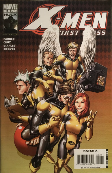 X-MEN FIRST CLASS (2007-2008) #12