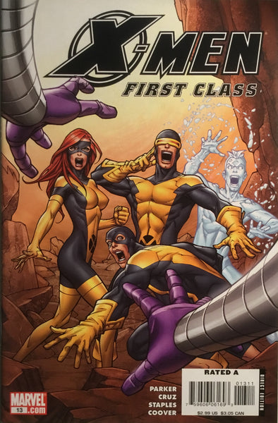 X-MEN FIRST CLASS (2007-2008) #13