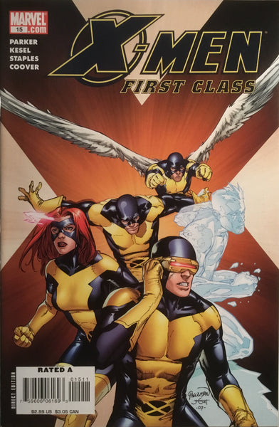 X-MEN FIRST CLASS (2007-2008) #15