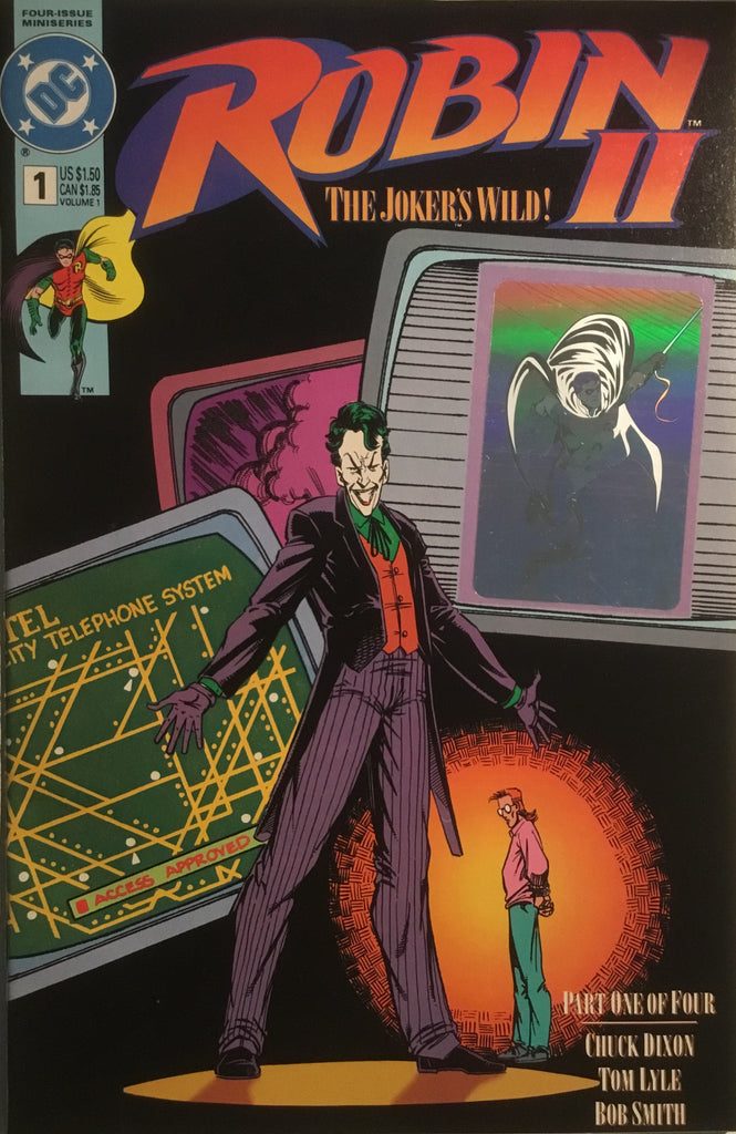ROBIN II # 1 HOLOGRAM COVER