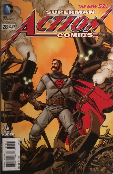 ACTION COMICS SUPERMAN #28 (THE NEW 52) STEAMPUNK 1:25 VARIANT