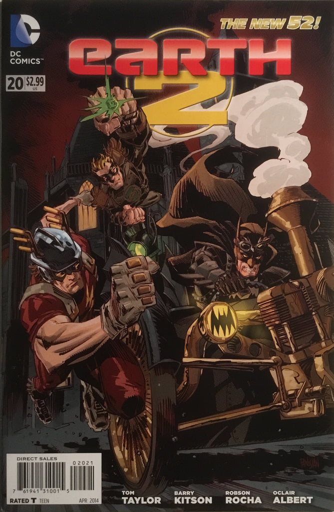 EARTH 2 #20 (THE NEW 52) STEAMPUNK 1:25 VARIANT