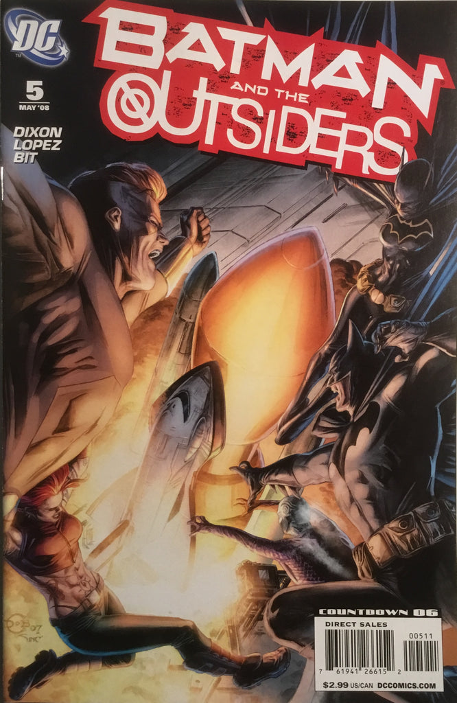 BATMAN AND THE OUTSIDERS # 5 (2007-2009)