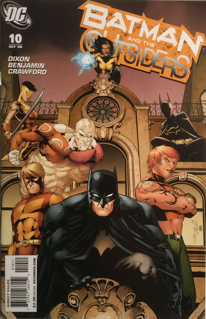 BATMAN AND THE OUTSIDERS #10 (2007-2009)
