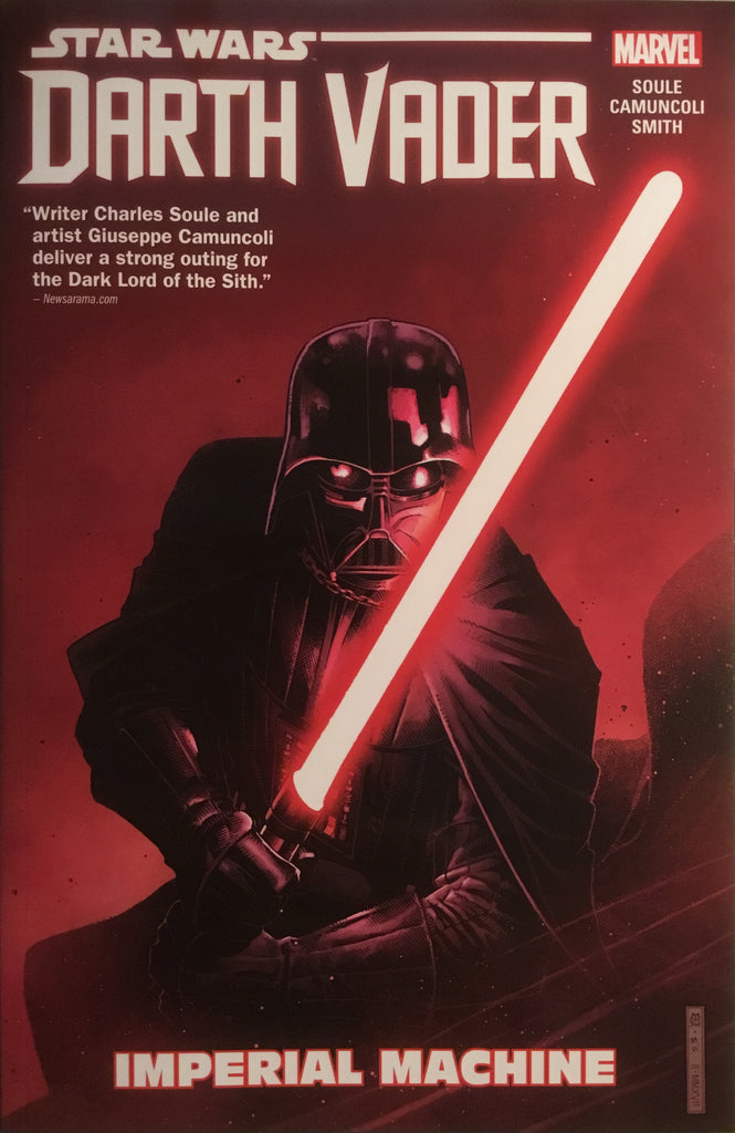STAR WARS DARTH VADER DARK LORD OF THE SITH (MARVEL) VOL 1 IMPERIAL MACHINE GRAPHIC NOVEL