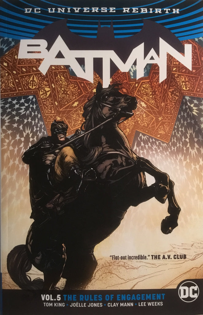 BATMAN (REBIRTH) VOL 5 THE RULES OF ENGAGEMENT GRAPHIC NOVEL