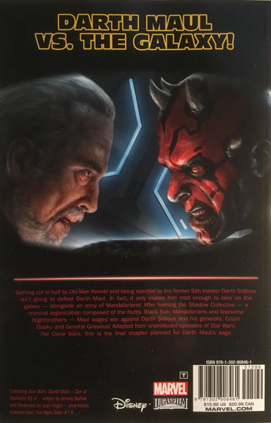 STAR WARS DARTH MAUL SON OF DATHOMIR GRAPHIC NOVEL
