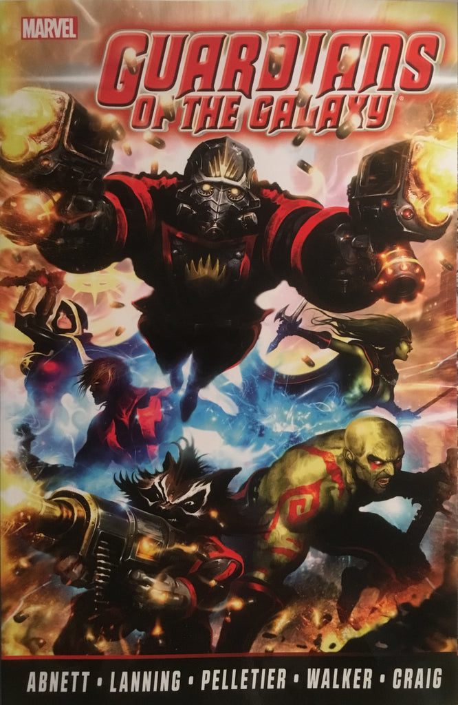 GUARDIANS OF THE GALAXY BY ABNETT AND LANNING COMPLETE COLLECTION VOL 1 GRAPHIC NOVEL