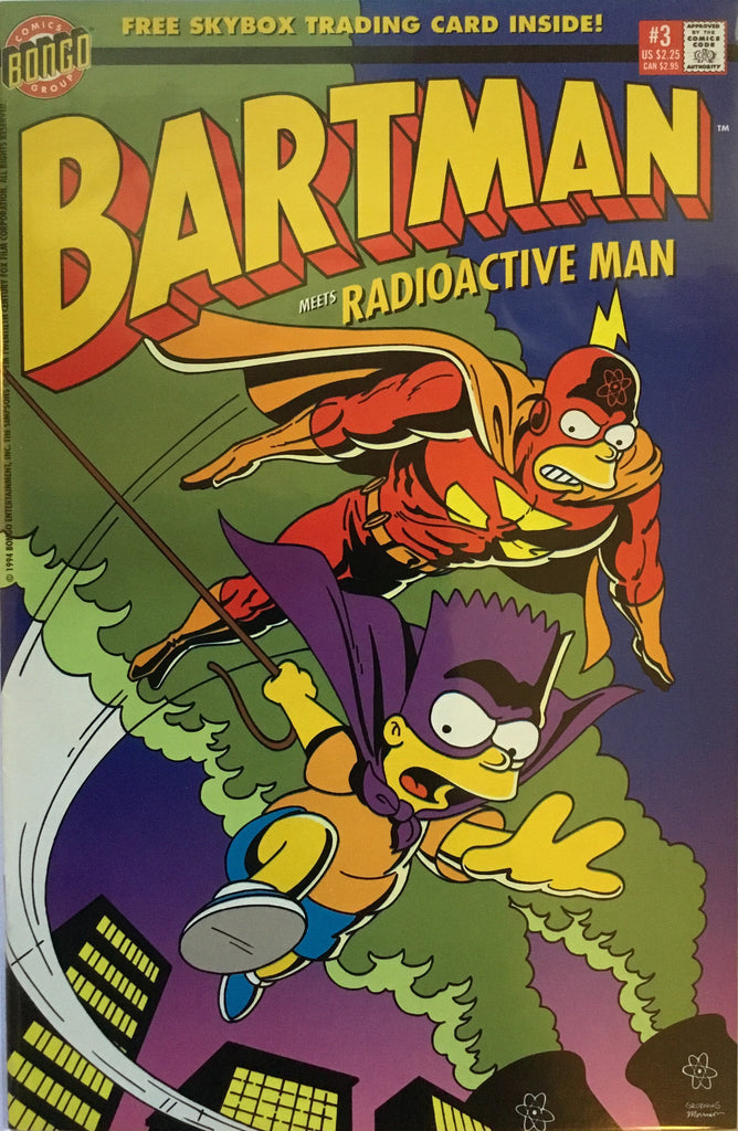 SIMPSONS BARTMAN # 3