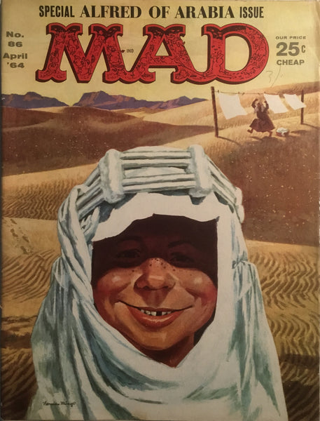 MAD MAGAZINE (USA) # 86