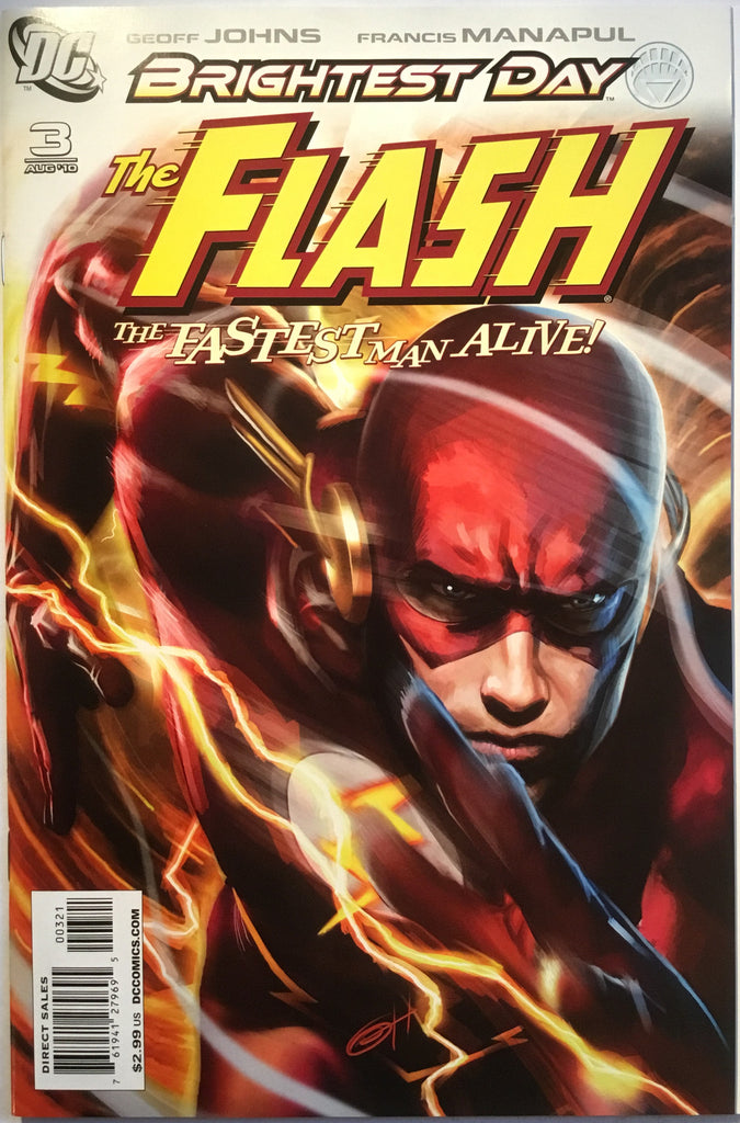 FLASH # 3 (1:10 VARIANT) 2010 - Comics 'R' Us