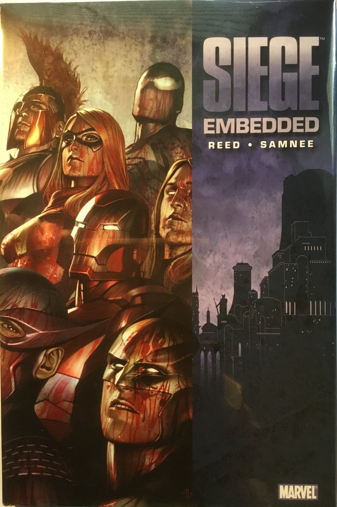 SIEGE EMBEDDED HARDCOVER GRAPHIC NOVEL