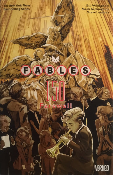 FABLES VOL 22 FAREWELL GRAPHIC NOVEL