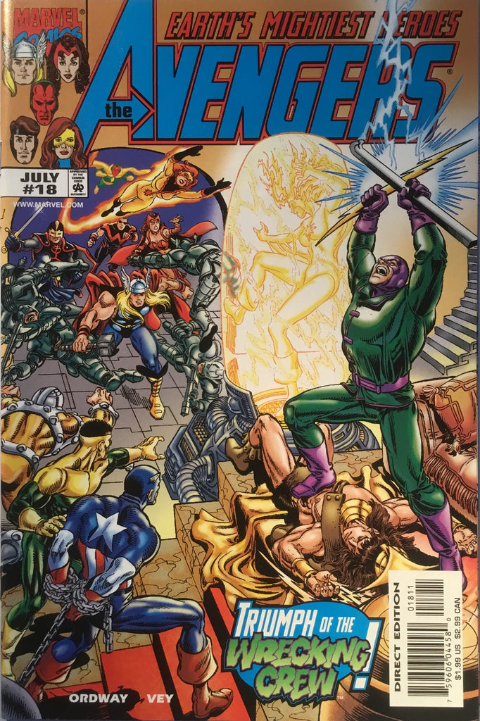 AVENGERS (VOL 3) # 18 - Comics 'R' Us