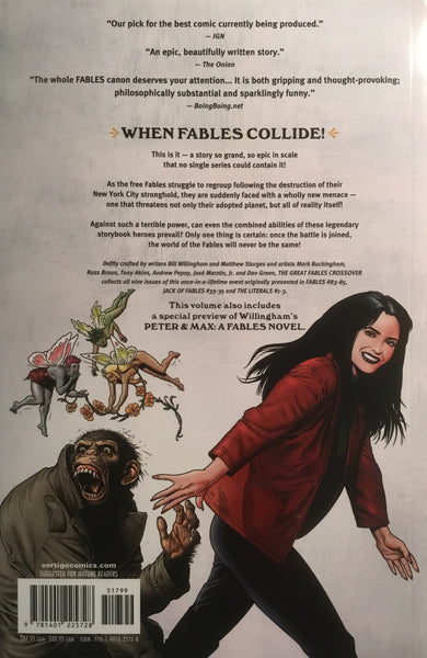 FABLES VOL 13 THE GREAT FABLES CROSSOVER GRAPHIC NOVEL