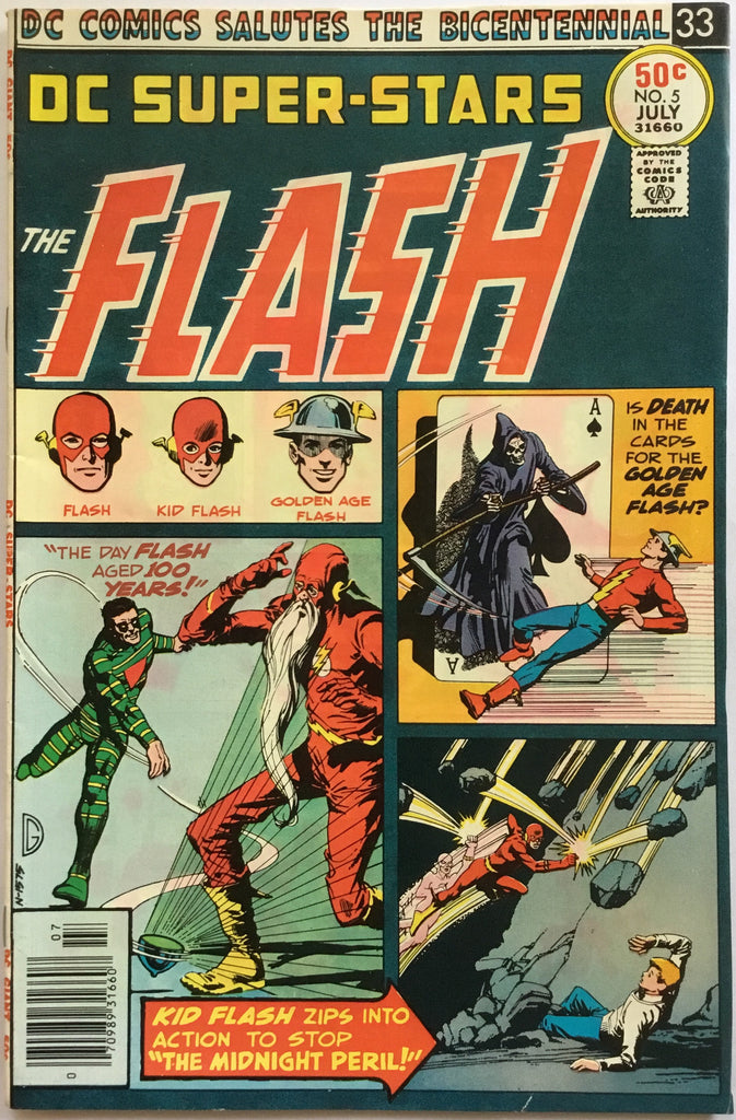 FLASH DC SUPER-STARS # 5 - Comics 'R' Us
