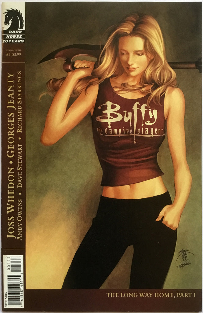 BUFFY THE VAMPIRE SLAYER SEASON EIGHT # 1 PAINTED COVER - Comics 'R' Us
