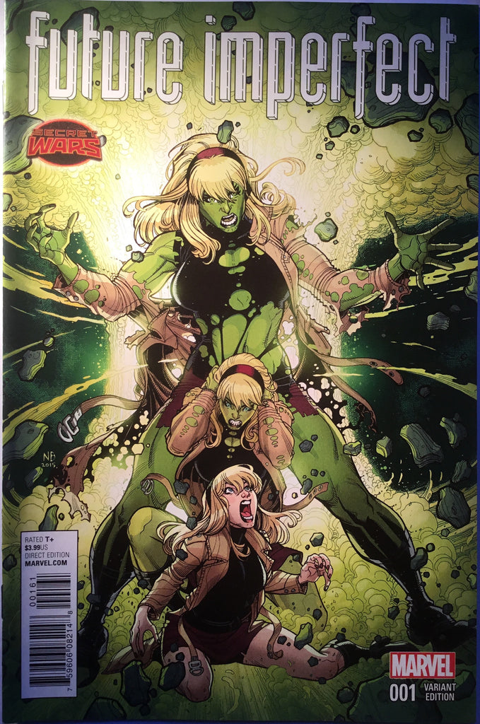 FUTURE IMPERFECT (SECRET WARS) # 1 INGWENIBLE HULK VARIANT COVER - Comics 'R' Us