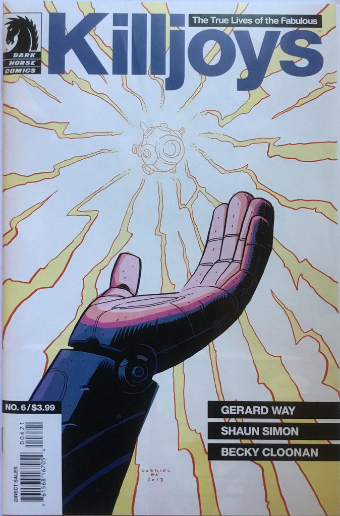 KILLJOYS (GERARD WAY) # 6 GABRIEL BA COVER (1:20 VARIANT)