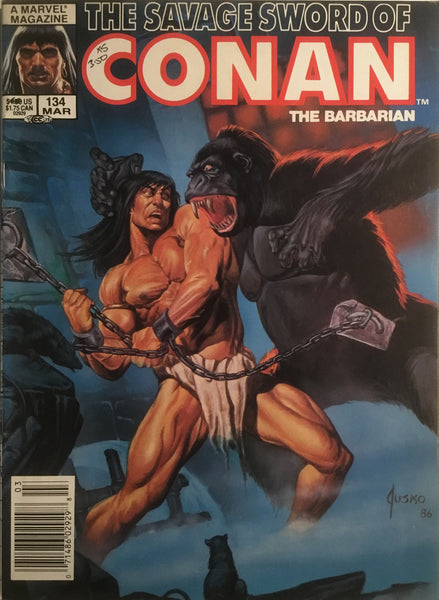 THE SAVAGE SWORD OF CONAN #134