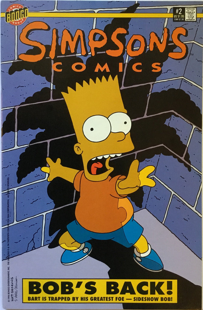 SIMPSONS COMICS # 02