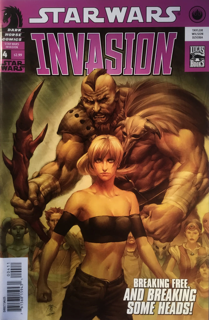 STAR WARS INVASION # 4
