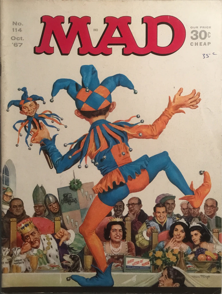 MAD MAGAZINE (USA) #114