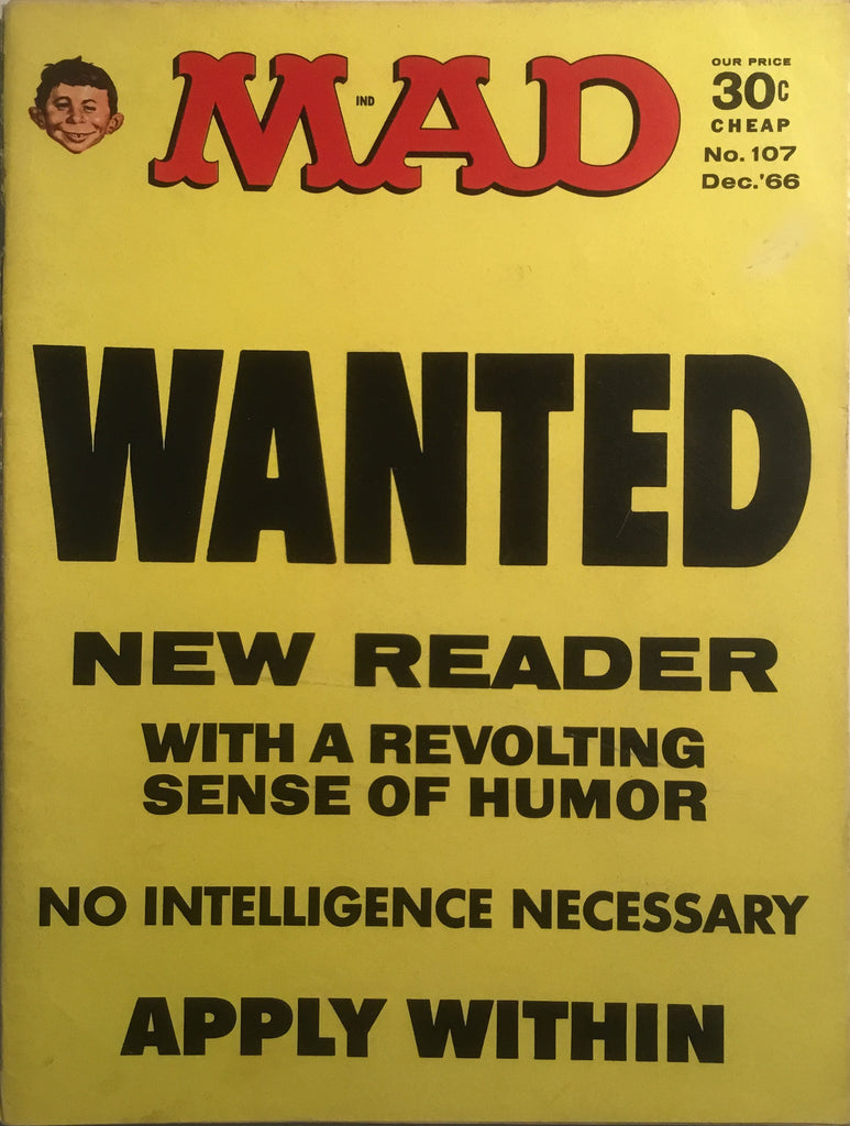MAD MAGAZINE (USA) #107